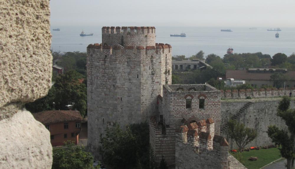 Marmara seen from Yedikule Hısarı 7oct14