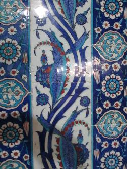 Rüstem Paşa Camii tile detail (7) 250x333