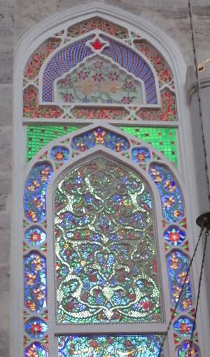Mihramah Sultan Camii (Edirnekapı) window 300x508