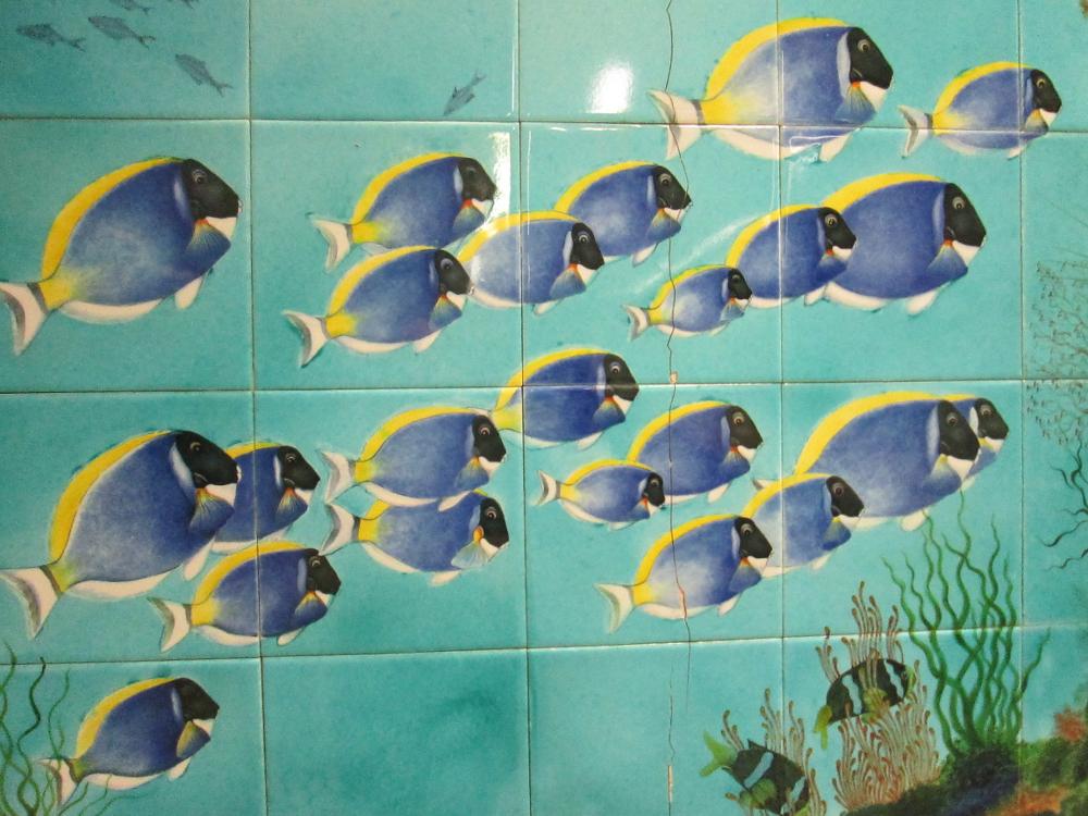 Fish Mural Tiles - Kabataş Fünicülar Durağı (9)