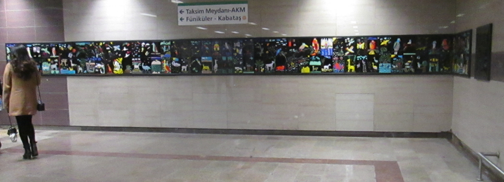 glass art mural Taksim Metro (18) 1000x362