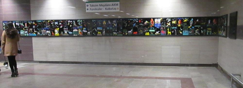 glass art mural Taksim Metro (18) 1000x362